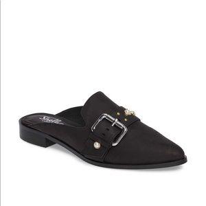 Shellys London Fatara Leather Mule size 40